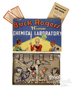 Buck Rogers 25th Century Chemical Laboratory