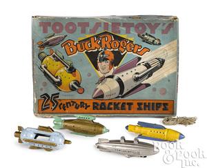 Tootsietoy's Buck Rogers Rocket Ships