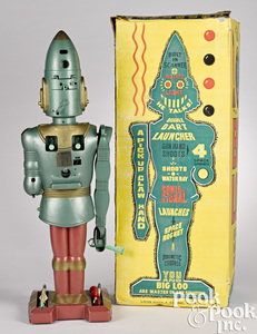 Marx battery operated Big Loo Giant Moon Robot