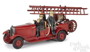 French Citroen pressed steel ladder truck