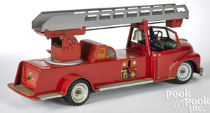 Japanese MSK friction fire ladder truck