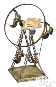 German steam toy Ferris wheel