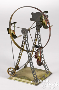 German steam toy Ferris wheel