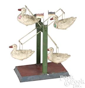 Duck Ferris wheel steam toy accessory