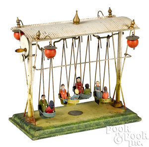 Ernst Plank swinging ship steam toy accessory