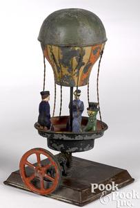 Schoenner hot air balloon carousel steam toy