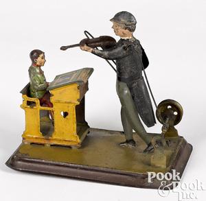 Becker violinist steam toy accessory