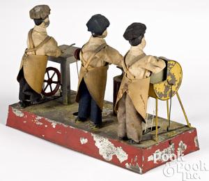 Schoenner three-man workshop steam toy accessory