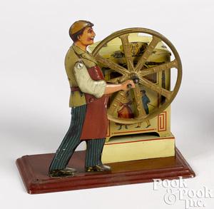 Bing musical organ grinder steam toy accessory