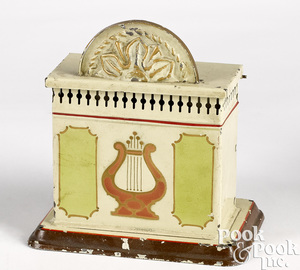 Musical orchestra box steam toy accessory