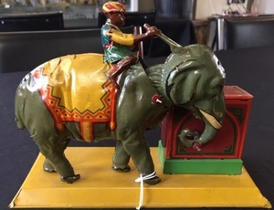 Eberl Indian elephant steam toy accessory