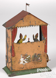 Puppet show steam toy accessory