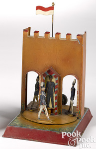 Guardhouse steam toy accessory