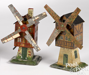 Two Plank windmill steam toy accessories