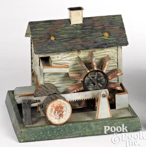 Doll & Cie sawmill steam toy accessory