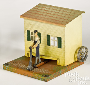 Doll & Cie street paver steam toy accessory