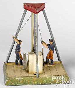 Doll & Cie drop press steam toy accessory