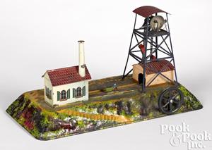 Bing coal mine steam toy accessory