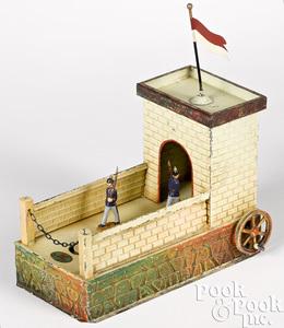 Doll & Cie casern steam toy accessory