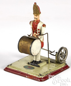 Doll & Cie drummer steam toy accessory