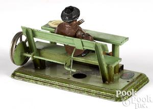 Doll & Cie drinking man steam toy accessory