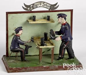 Wunderlich shoe repair shop steam toy accessory