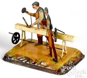 Bing wood worker steam toy accessory