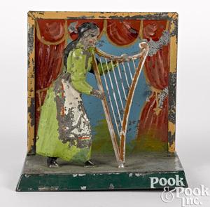 Becker harpist steam toy accessory