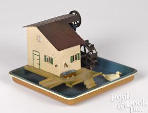 Marklin water mill steam toy accessory