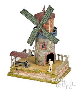 Bing windmill steam toy accessory