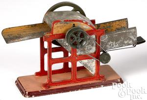Carette threshing machine steam toy accessory