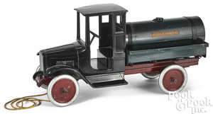 Buddy L pressed steel tanker delivery truck