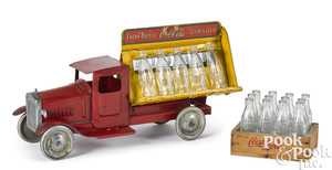 Metalcraft pressed steel Coca-Cola delivery truck