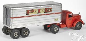 Smith Miller P.I.E Mack semi-tractor trailer