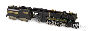 American Flyer #4695 train locomotive and tender