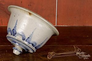 Rare stoneware hanging flowerpot