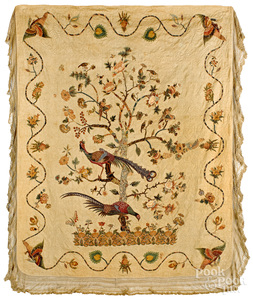 Broderie perse quilt