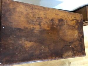 Philadelphia Queen Anne tiger maple dressing table