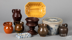 Pottery and redware