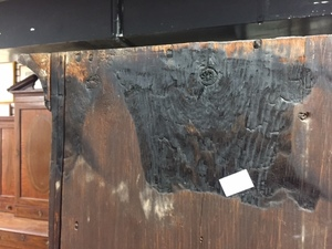 Pennsylvania Federal cherry tall chest