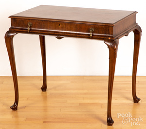 Queen Anne style mahogany work table