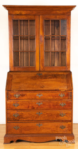Pennsylvania Chippendale walnut secretary desk