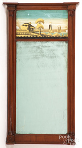 Federal mahogany mirror
