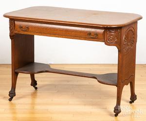 Depression Era oak desk