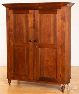 Pennsylvania walnut cupboard