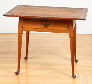 Pine and maple tavern table