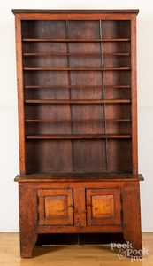 Cherry stepback cupboard