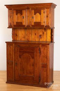 Continental pine cupboard