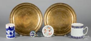 Group of Oriental decorative arts