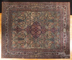 Kirman garden rug, early 20th c.
